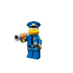 LEGO Simpsons Minifigures - Chief Wiggum