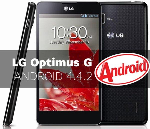 Android 4.4.2 для LG Optimus G