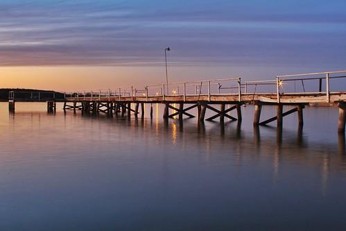 sunset lake blur reflection water pier dock texas sanangelo lakenasworthy