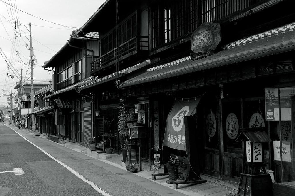 中山道太田宿|岐阜県美濃加茂市