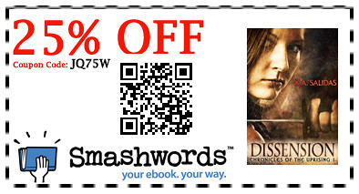 25% off book 1 at smashwords