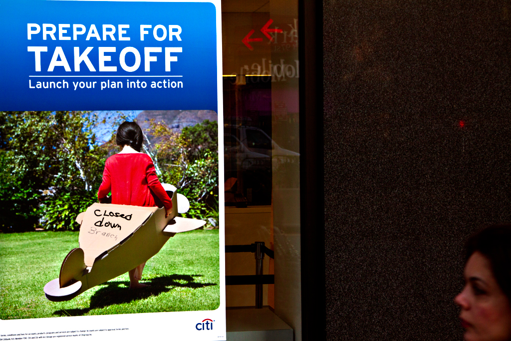 Closed-down-Branch-on-citi-bank-poster--Upper-West-Side