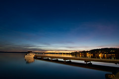 Warners Bay After sunset