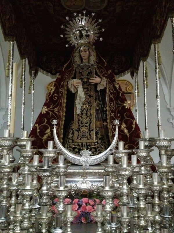 Nuestra Señora de los Dolores. Hermandad de la Merced de Huelva