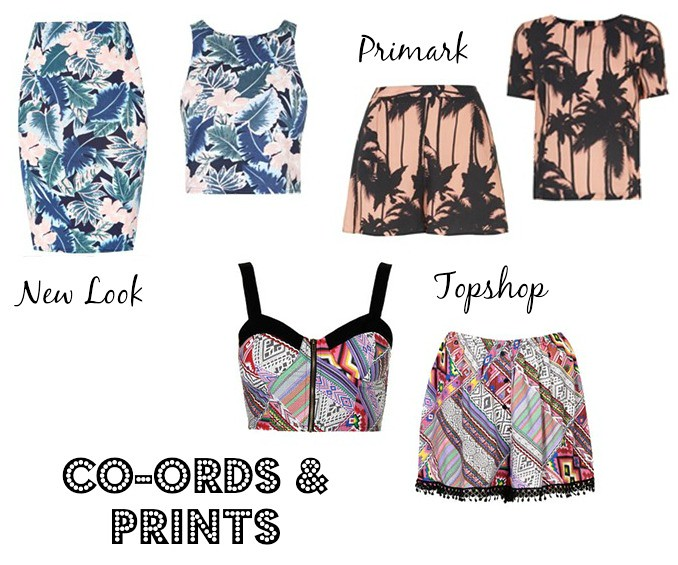 Co- ordinates & prints