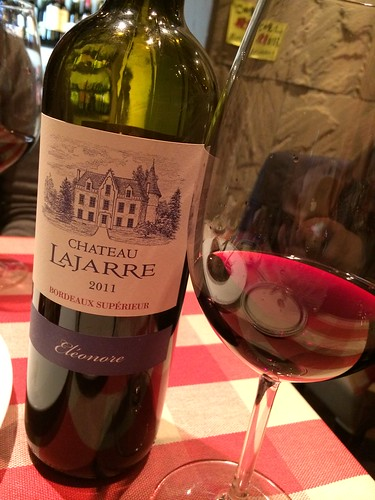CHATEAU LAJARRE Eleonore(フランス ボルドー)@神楽坂ワイン食堂