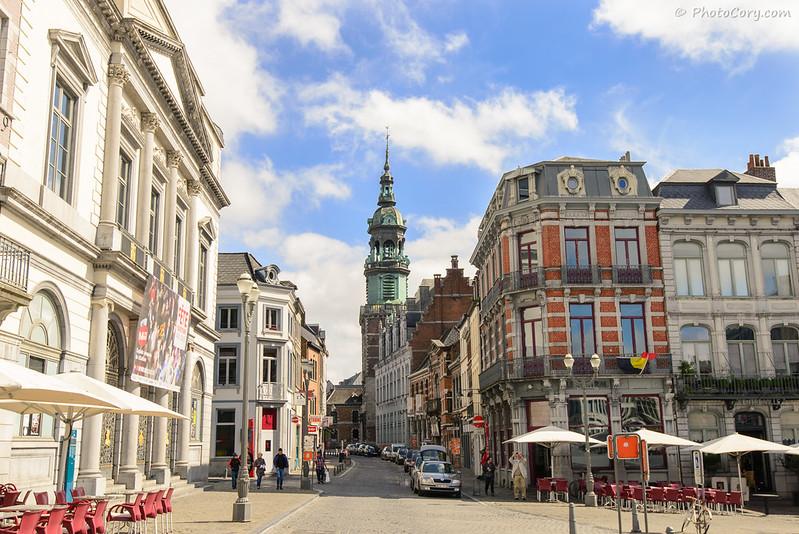 Grand Place in Mons, Belgium