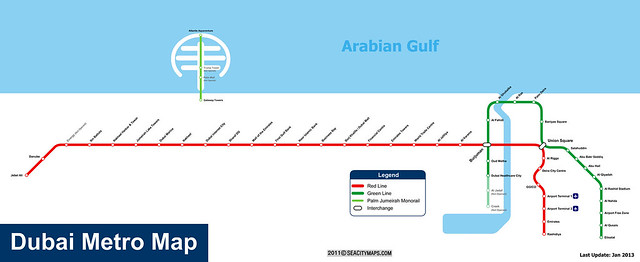 杜拜地鐵(1)_dubai_metro_map
