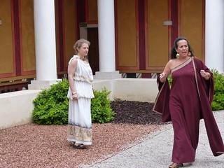 Visita teatralizada en el Museo de las Villas romanas de Almenara-Puras
