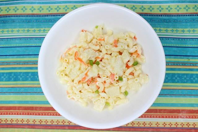 Chicken Macaroni Salad #StaterSnacks