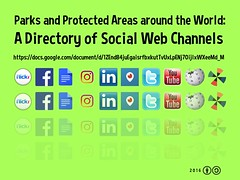 Parks and Protected Areas around the World: A Directory of Social Web Channels