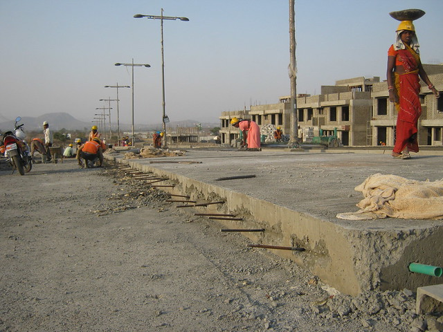 Close up of Central Boulevard - Life Republic - Hinjewadi Marunji - on 22nd February 2012 - World Thinking Day