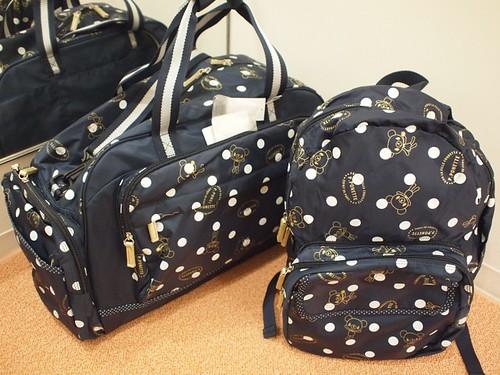ポンポネット_旅行バッグ