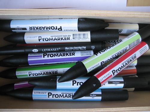 Manga promarkers