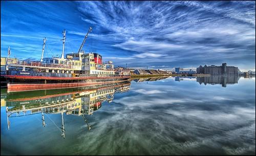 Birkenhead Docklands Reflections,Wirral