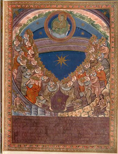 004-Imagen del Cordero Divino-Evangeliar  Codex Aureus - BSB Clm 14000-© Bayerische Staatsbibliothek