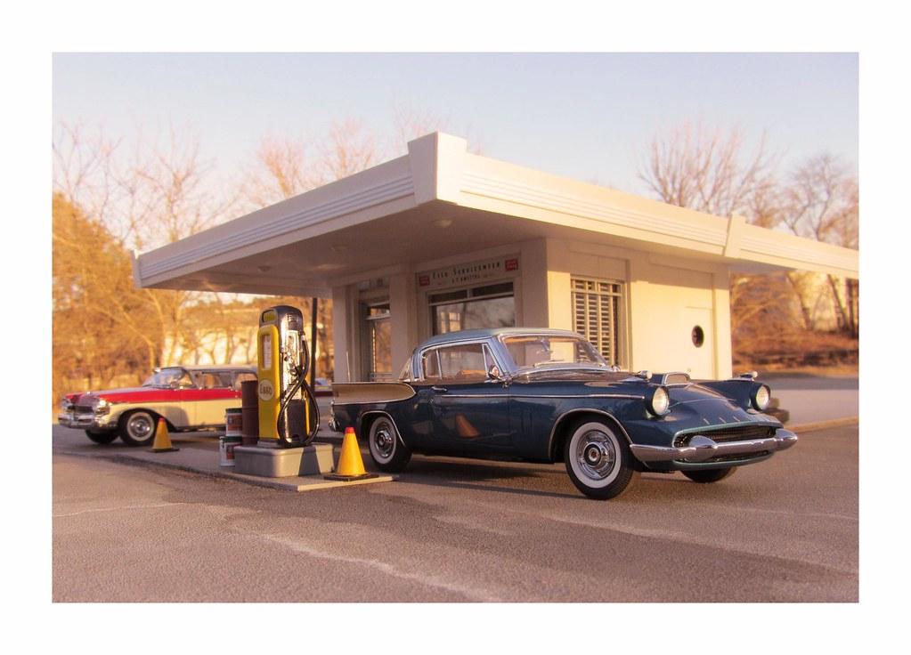 1958 Packard Hawk Glamor Shot