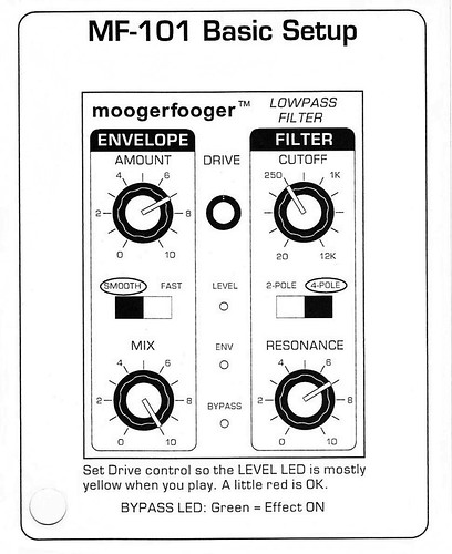 MF-101 Basic Setup by Noise Transmissions