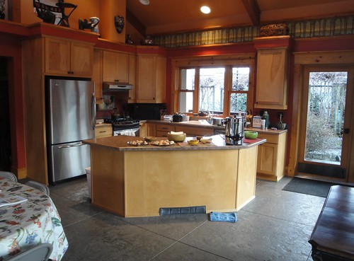 Kitchen at Dancing Oaks Nursery