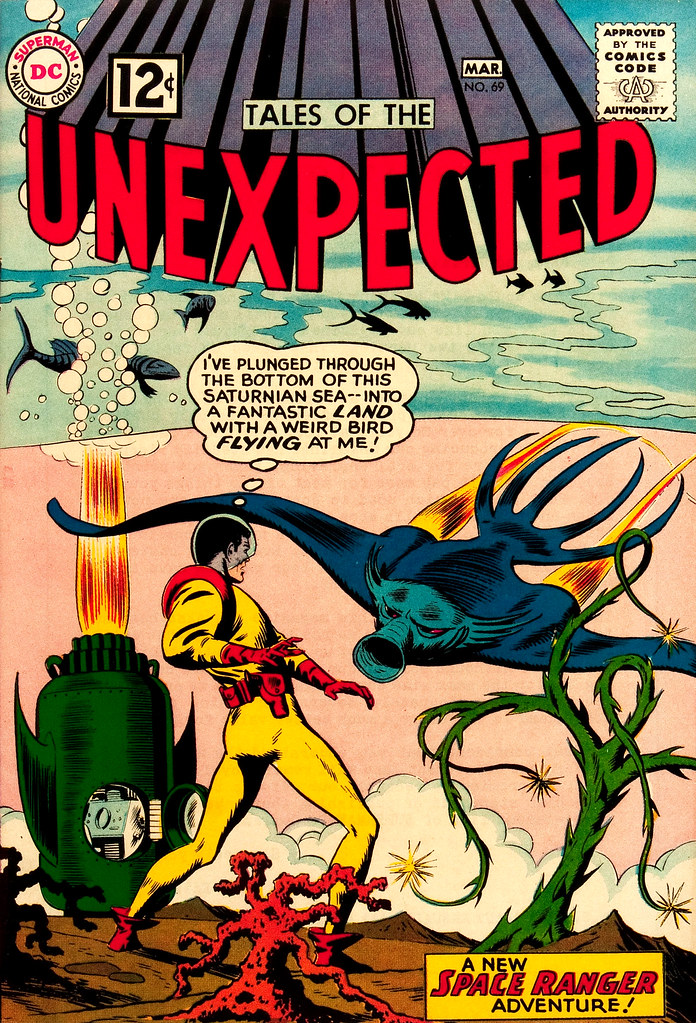Tales of the Unexpected #69 (DC, 1962) Bob Brown cover