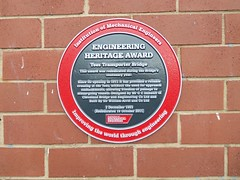 Photo of Red and black plaque № 8961