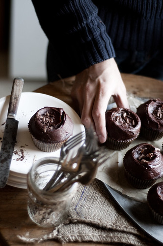 6796931086 fec52b1c5f Chocolate Cupcakes & NEWS!