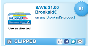 Bronkaid Product  Coupon