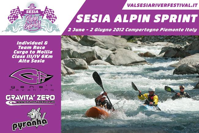 Sesia Alpin Sprint 2012 badge