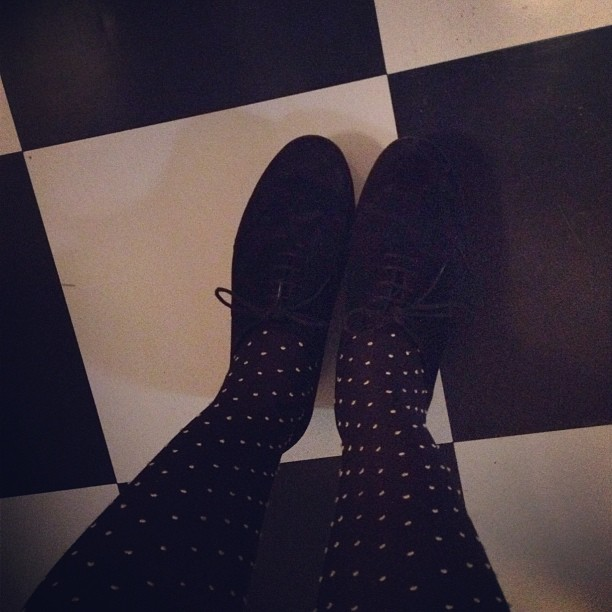 #dotted #thights #vagabond #flatforms #flatform #shoes #legs