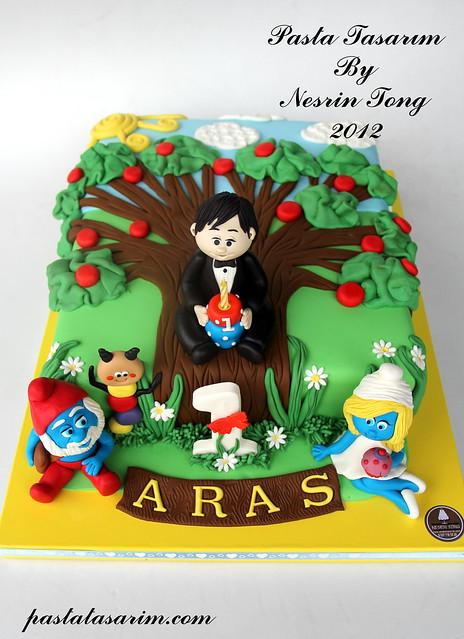 1st birthday cake- ARAS