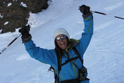Carolyne Kauser-Abbott Article:  Interview: Isabelle Santoire Female Mountain Guide 11/03/12 (publish 26/03/12)