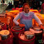 Homemade Mexican Ice Cream - Etla Market, Oaxaca