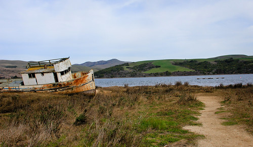 Landscape with Rusty Boat