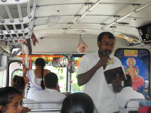 Bus to Matara from Tangelle - Sri Lanka