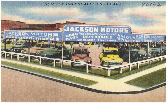 Jackson Motors, home of dependable used cars