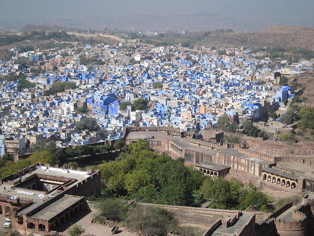View of Jodhpur from Meherangarh Fort