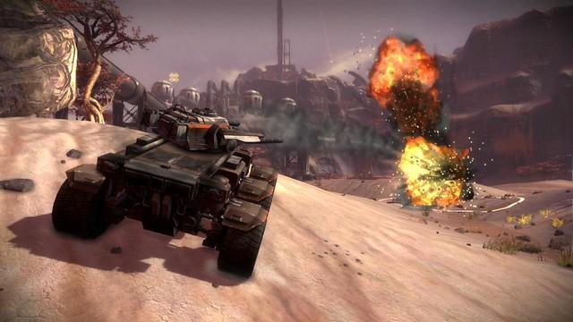 Starhawk: Ox tank