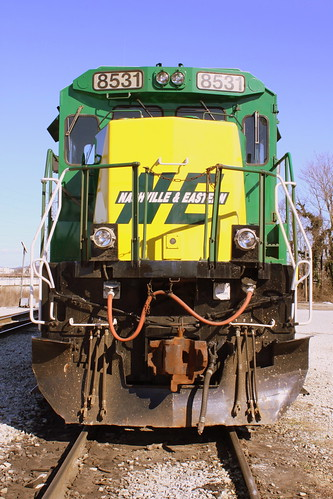 Nashville & Eastern (NERR) Locomotive (Green & Yellow)