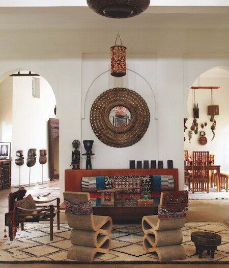 21 African Decorating Ideas For Modern Homes: The Home Of Maraym Montague & Chris Redecke