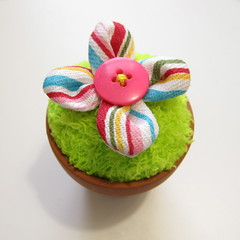 Iron Craft Challenge #7 - Flower Pot Pincushion