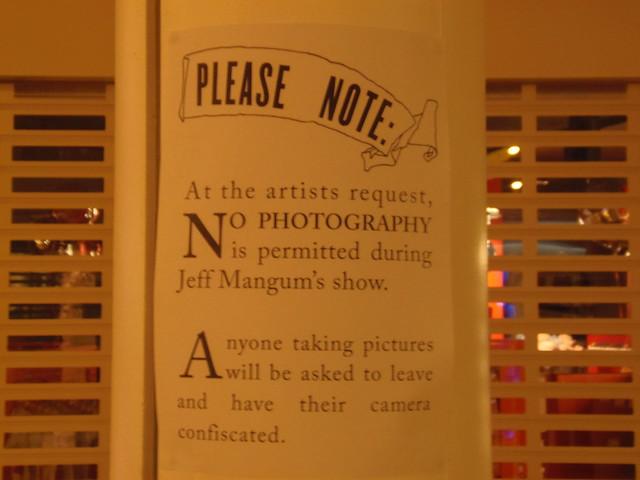 Jeff Mangum (No Photo) @ ATP Minehead 3/11/12