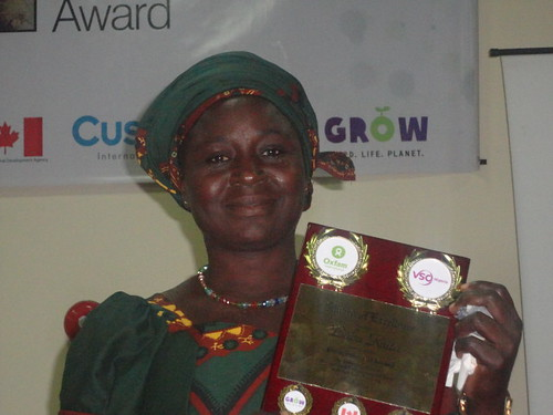 Winner Female Food Hero Award - Nigeria– Susana Godwin