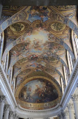 Ceiling, Chapelle de Versailles