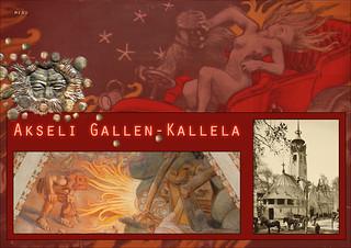 Billede af Akseli Gallen Kallela. gallenkallela finlande akseligallenkallela dalbera