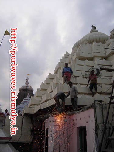 High Court Order – razed a portion of 500-year-old Chhauni mutt