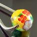 Charm bead : Lime