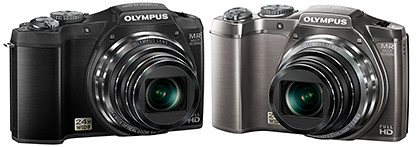 The Olympus SZ-31MR comes in either black or silver