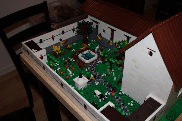 Moc Mission San Francisco Solano De Sonoma Lego