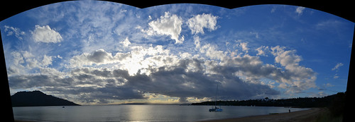 Panorama Richardsons bay by gomagoti