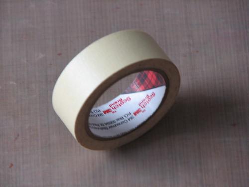 Art Journal #8 - Stamped Masking Tape 003